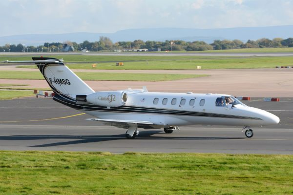 Citation CJ2 F-HMSG